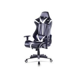 Woltu Gaming-Stuhl Bürostuhl mit Kopf- und Lendenkissen
