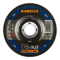 RHODIUS PROline FTK33 Freihandtrennscheibe 115 x 3,0 x 22,23 mm