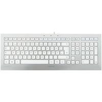 Cherry STRAIT 3.0 UK weiß/silber (JK-0350GB)
