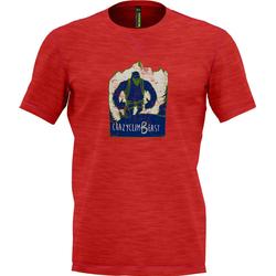 Crazy Beast T-Shirt Men red