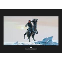 Komar Poster Star Wars Classic RMQ Hoth Tauntaun, Star Wars 70 cm x 50 cm