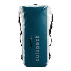 Zulupack Wanderrucksack Rucksack 25 L waterproof 46 cm blau