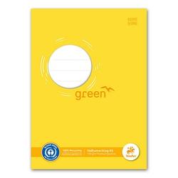 10 Staufen® Heftumschläge green gelb DIN A5