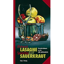 Blutwurst-Lasagne auf Speierling-Sauerkraut. Claus J. Viering  - Buch