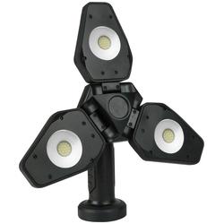 Osram LED Baustrahler, 1000 Lumen, mit Stativ, 10 W, mit Akku