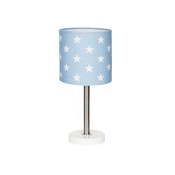 Happy Style Nachttischlampe Stars, Kinderzimmer blau