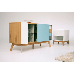Woodman Sideboard Estera, Sideboard, Breite 135 cm bunt