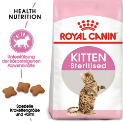 ROYAL CANIN KITTEN Sterilised Kittenfutter für kastrierte Kätzchen 400 g