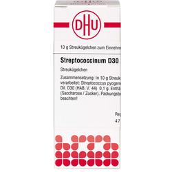 STREPTOCOCCINUM D 30 Globuli 10 g