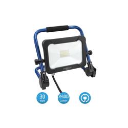 ANSMANN® LED Baustrahler Baustrahler LED 30W – Baustellen Lampe, Bau Leuchte, IP54 wetterfest