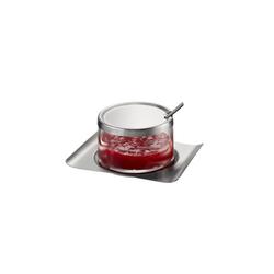 GEFU Marmeladenglas Marmeladenglas BRUNCH, Glas, Edelstahl, (1-tlg)