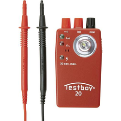 Testboy 20 Plus Durchgangsprüfgerät CAT II 300V LED, Akustik