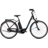 Cube Town RT Hybrid Pro 500 2021 28 Zoll RH 54 cm Easy Entry black'n'blue