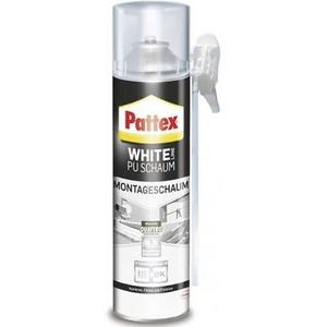 Pattex White Line Montageschaum Herstellerfarbe Weiß PUW75 750ml