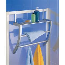 Ruco Mehrzweckregal, Aluminium/Kunststoff, für Duschkabine und Heizung, auch zur Wandmontage geeignet