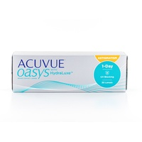 Acuvue Oasys for Astigmatism 30 St. / 8.50 BC / 14.30 DIA / -0.25 DPT / -0.75 CYL / 130° AX
