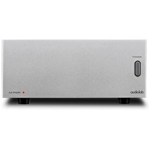 Audiolab M-Pwr 2 x 40 W Endverstärker im Mini Format silber