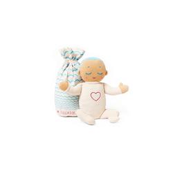 Lulla doll by RoRo Babypuppe Lulla doll Einschlafpuppe mit Herzschlag und Atemgeräusch in hellblau