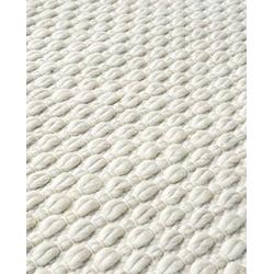 Teppich Flynn - Wollteppich, Handgewebt, Fable & Loom, rechteckig, Höhe 20 mm, handgewebter Wollteppich, texturiert natur 140 cm x 200 cm x 20 mm