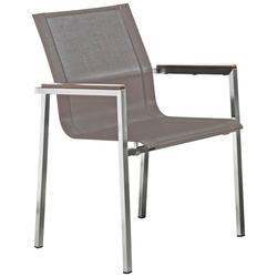 Destiny Gartensessel ALTOS II (1-tlg), Stahl/Textil, stapelbar