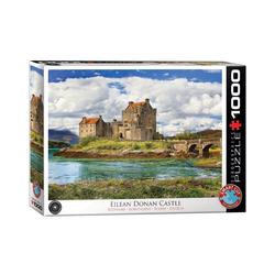 EUROGRAPHICS Puzzle Donan Burg in Schottland 1000 Teile Puzzle, Puzzleteile