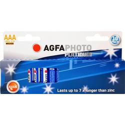 AgfaPhoto Batterie Platinum, LR03 MN2400 Batterie, (1,5 V)
