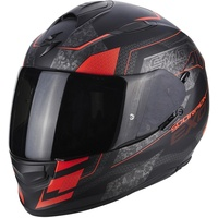 Scorpion Exo-510 Air Galva Schwarz/Rot
