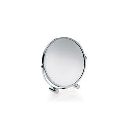 Kela Tischspiegel Gina in chrom, 17,5 cm