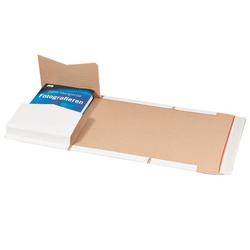 Buchversandverpackung 300 x 220 x 80 mm DIN A4 Weiß