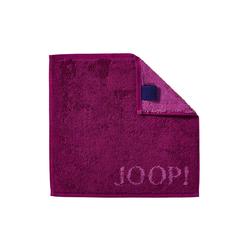 JOOP! Seifenlappen Joop! Classic Doubleface in cassis, 30 x 30 cm