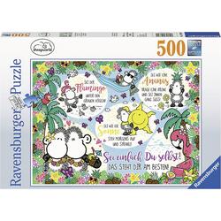 Ravensburger Puzzle Puzzle 500 Teile, 49x36 cm, Sheepworld, Puzzleteile