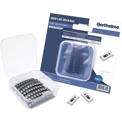 Barthelme SMD-LED-Set 3014 Rot 300 mcd 120° 20mA 2V 100 St. Bulk