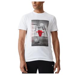 New Era Print-Shirt PHOTOGRAPHIC NBA Chicago Bulls L