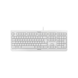 Cherry KC 1000 Tastatur (inkl. Cursor- und Nummernblock) weiß