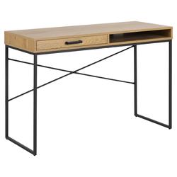 ebuy24 Schreibtisch Sea Schreibtisch mit 1 Ablage und 1 Schublade, Wil
