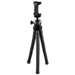 Hama Hama Flex-Pro Flexibles Mini-Stativ 27cm Tripod Biegbare Beine Kamera Handy Dreibeinstativ (Flexible Beine mit 360°-Biegung)