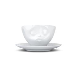 FIFTYEIGHT PRODUCTS Tasse Tasse Küssend weiß 200 ml