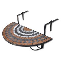 moebel-direkt-online Balkonhängetisch Bodo (1-St), aus Metall rot