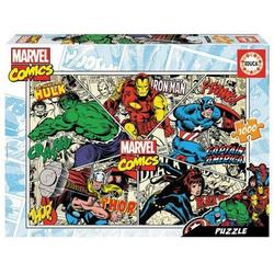 Carletto Puzzle Educa Puzzle - Marvel comics 1000 Teile, Puzzleteile