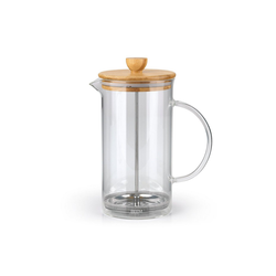 BEEM Kaffeebereiter, 1l Kaffeekanne, COFFEE PRESS 1L Bambus
