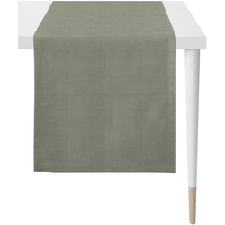 APELT Tischläufer Apart, LOFT STYLE (1-tlg), UNI-BASIC grau