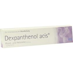 DEXPANTHENOL acis Wund- und Heilcreme 50 g