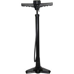 Point Standpumpe schwarz Fahrradpumpen Fahrradzubehör Fahrräder Zubehör Pumpe