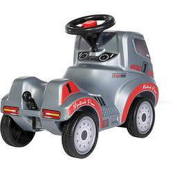 Ferbedo Truck Racing, mit Hupe und Anhängerkupplung silber