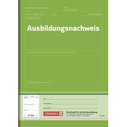 Ausbildungsnachweis-Heft Grün