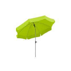 Sonnenschirm  Locarno ¦ grün Ø: 200