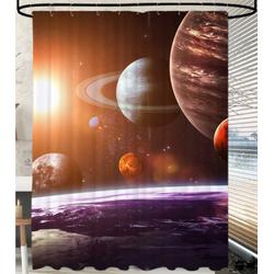 Duschvorhang Planeten 180 x 200 cm