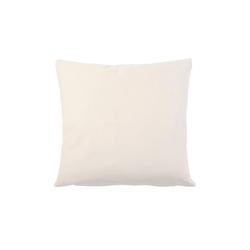 Gözze Kissenhülle Duval in weiß, 50 x 50 cm