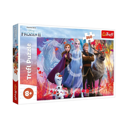 Trefl Puzzle Puzzle 260 Teile Frozen 2, Puzzleteile