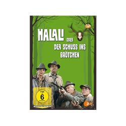 Halali oder der Schuß ins Brötchen DVD